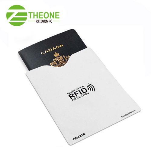 RFID Passport Blocking Sleeve 3 500x500 - RFID Blocking Sleeve for Passport