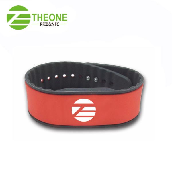 RFID silicone wristband 1 - Newest RFID Silicone Wristband