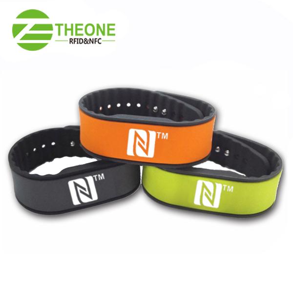 RFID silicone wristband 2 - Newest RFID Silicone Wristband