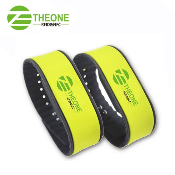 RFID silicone wristband 7 - Newest RFID Silicone Wristband