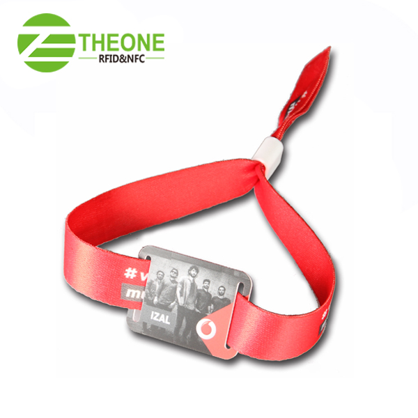 afgfgg - Fabric & Cloth Wristbands with RFID Chip | THEONE RFID TAG