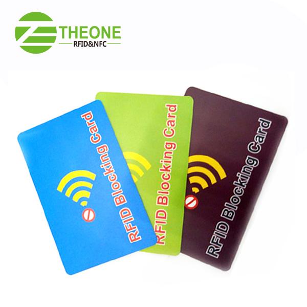 wdhg - RFID Blocking Card