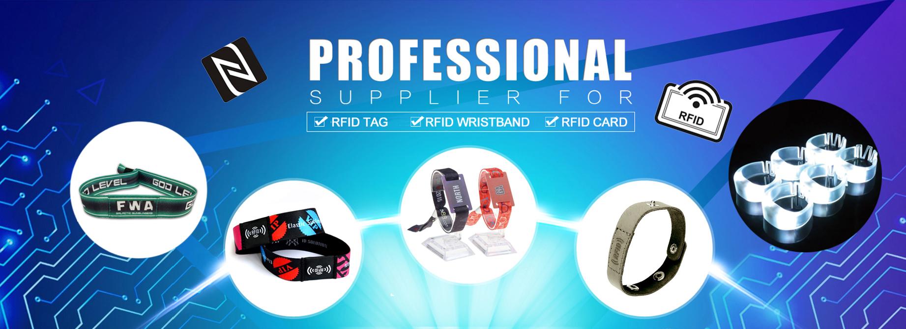 RFID NFC wristband bracelet - Home
